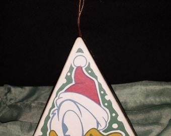 Donald Duck Christmas Tree Treasure Box Ornament