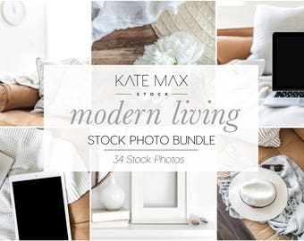 Modern Living Styled Stock Photo / Product Mockup / 34 Styled Stock Photography / KateMaxStock Photography