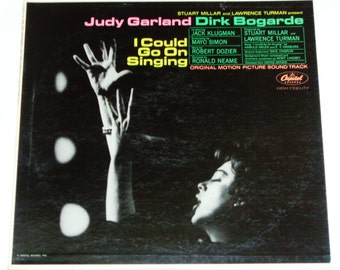 Judy Garland - I Could Go On Singing - Original Musical Drama Film Soundtrack - Columbia Original Mono 1963 - Vintage Vinyl LP Record Album
