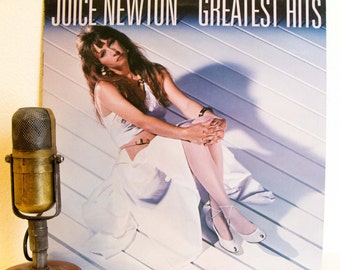 "Juice Newton Vinyl Record Album LP Vintage 1980s Pop Country Soft Rock and Roll ""Greatest Hits"" (1984 Capitol w/""Angel Of The Morning"")"