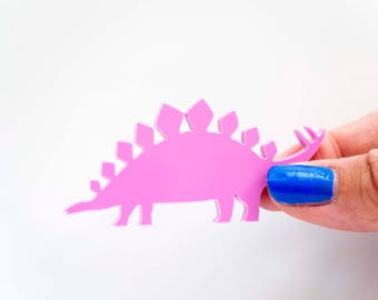 Dinosaur Ring, Stegosaurus Adjustable Ring, Statement Ring, Cocktail Ring, Dinosaur Jewellery, Jurassic Park, Statement Ring, Perspex