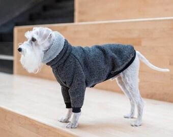 Warm dog sweater, Dog Pajamas, Warm Dog Sweater, Custom Dog Raglan Coat, Dog Jacket, Fleece Dog clothes, Dog Coat, Small dog clothes,