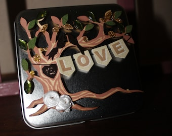 Love Tin Case For Gift Card, Business Card, Woman products
