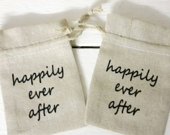 Happily Ever After Favour bag