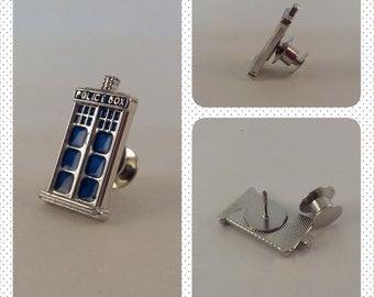 Doctor Who / TARDIS Tie Tack