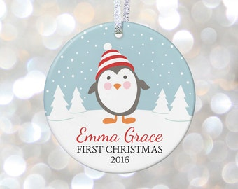 Baby First Christmas Gift for Baby Gifts for Babys First Christmas Ornament for Baby Boy Gift Baby Girl Ornament Baby Announcement Ornament