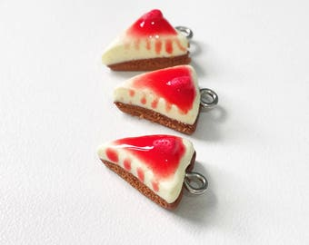 Strawberry Cheesecake Charm