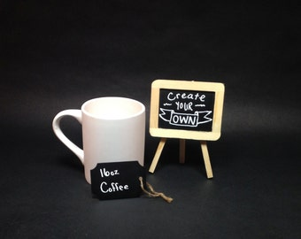 Create your cup Custom one of a kind Ceramic painted cup personalized coffee 16oz