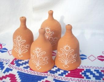 Ceramic Bell / Perfect gift / Handmade / Folk Art