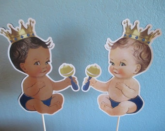 Royal Baby Shower(1)Cake Toppers,Royal Prince,Little Prince,Royal Blue Birthday,Royal Prince Baby Shower,Royal Baby Decor,Royal Theme