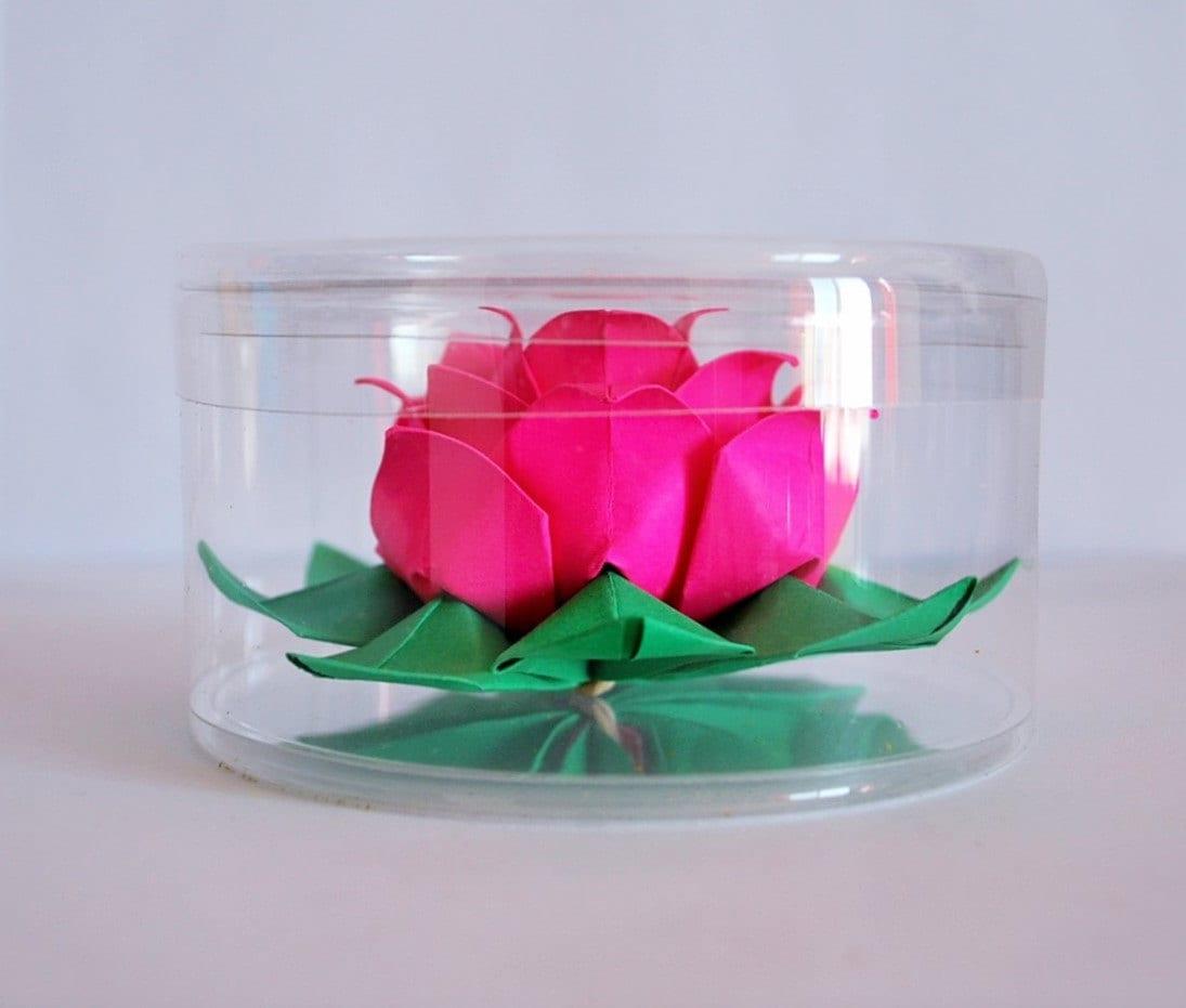 Lotus Origami Lotus Water Lily Paper Flower Paper