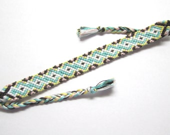 Sweet Twist Friendship Bracelet, Cute Jewelry, Neapolitan, Neopolitan Sugar Colors, Kawaii Multicolored Bracelet, XO Friendship Bracelet