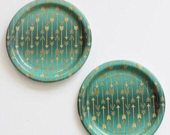 Tribal paper plates   Etsy