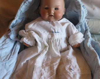 Antique Armand Merseilles Bisque Baby Doll