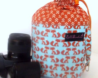 Dollbirdies Small Camera Cozy Bag, Camera Bag, Camera Tote, Camera Case, Cute Camera Bag