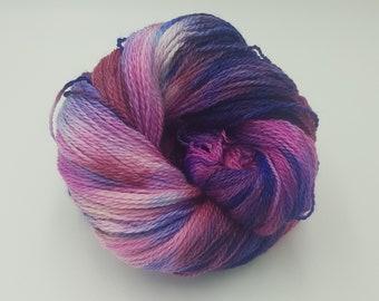 Hand Dyed 4ply Falkland Merino Wool - Dusk at Sea