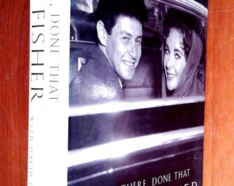 Signed / Autograph by Eddie Fisher Been There,Done That with David Fisher Illustrated Hutchinson London United Kingdom Hardcover