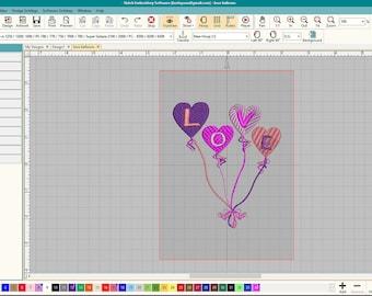 Valentines EMB file.