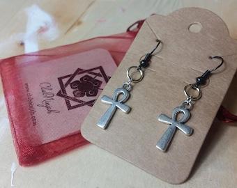 Cute Ankh Earrings - Egyptian Ankh Earrings - Ankh Earrings - Symbol of Life Jewelry