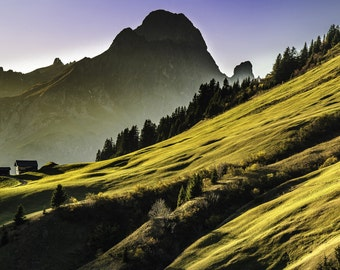 Mountains Digital Print - Mountains - Mountains Landscape - Digital Print - Mountains Photo - Digital Photo - Digital Download - Wall Art