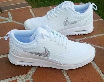 Swarovski Crystal Swoosh Nike Air Max Thea
