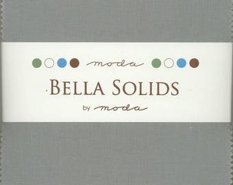 Bella Solids Modern Charm Pack, Set of 42 5-inch Precut Cotton Fabric Squares (9900PP-902)