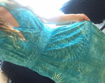 Columbia brand Light Blue Fractal Dress