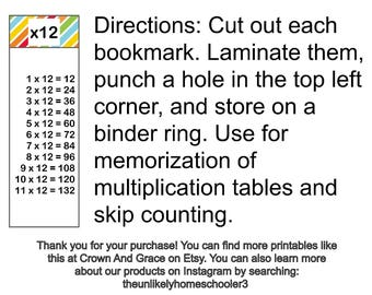 times tables // memory work // multiplcation // math facts //teacher gift // homeschool // home educate //classical education