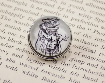 Snap Charm Button - Toad - Wind in the Willows