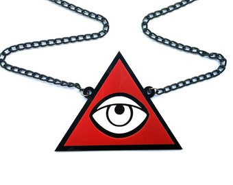 WOW necklace super cool all-seeing eye