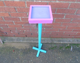Colourful small bird feeder table (10% of sale to RSPB)