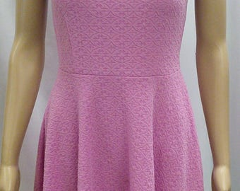 Ballet Slipper Pink Comfy Sleeveless Skater Dress