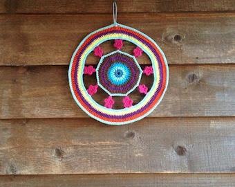 Flower Mandala Crochet Home Decor Dreamcatcher*** SALE***