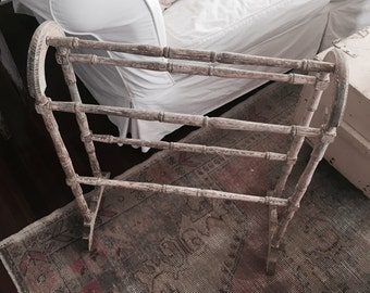 The perfect pale pink chippy quilt rack coat primitive shabby french nordic chic rachel ashwell table wood