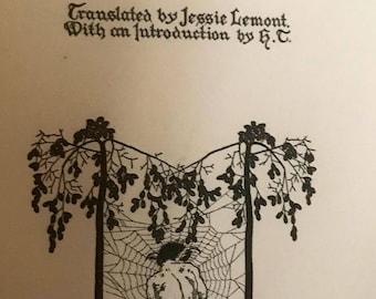 Rainer Maria Rilke Poems, Tobias Wright 1918 First Edition