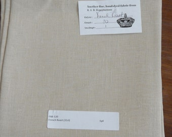 32 ct. French Roast by R&R Reproductions (1/8th yard pricing)