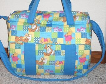 Winnie the Pooh Diaper Bag w/change pad by EMIJANE