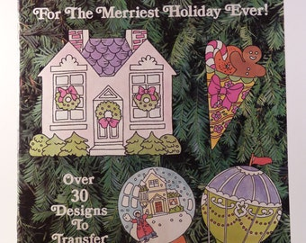 McCall's Iron-On Transfers For the Merriest Holiday Ever! Vol. VI - Christmas designs