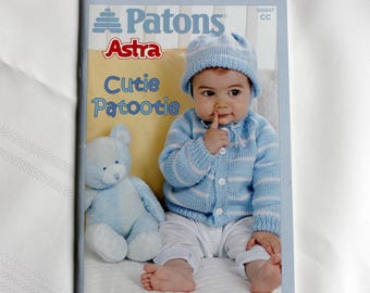 New Patons 500847, Crochet and Knit for Baby, Cutie Patootie,