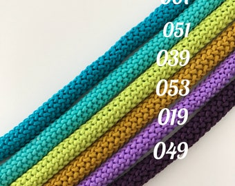 Macrame cord, macrame rope, polyester cord, Chunky Rope 6 mm, Crochet rope, Rope craft supplies, Cotton cord, knitting cord, macrame string