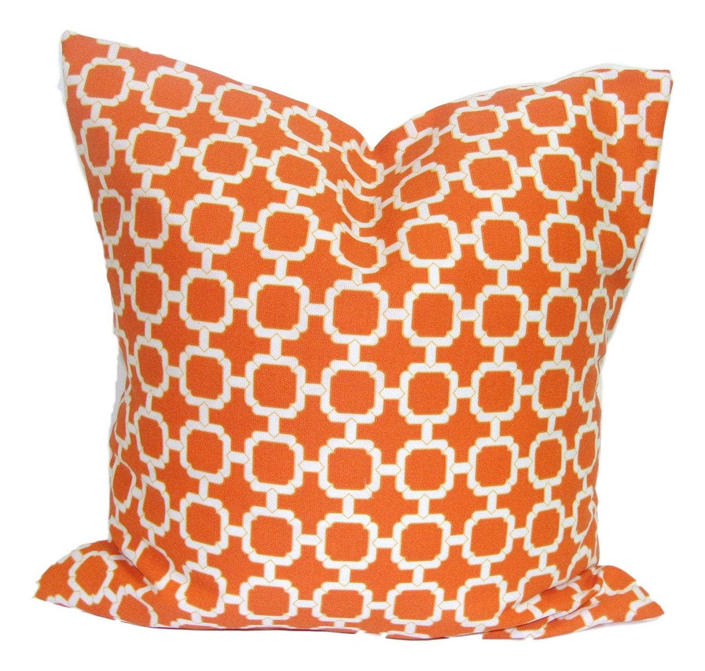pillow lumbar orange chairish kantha product quilt