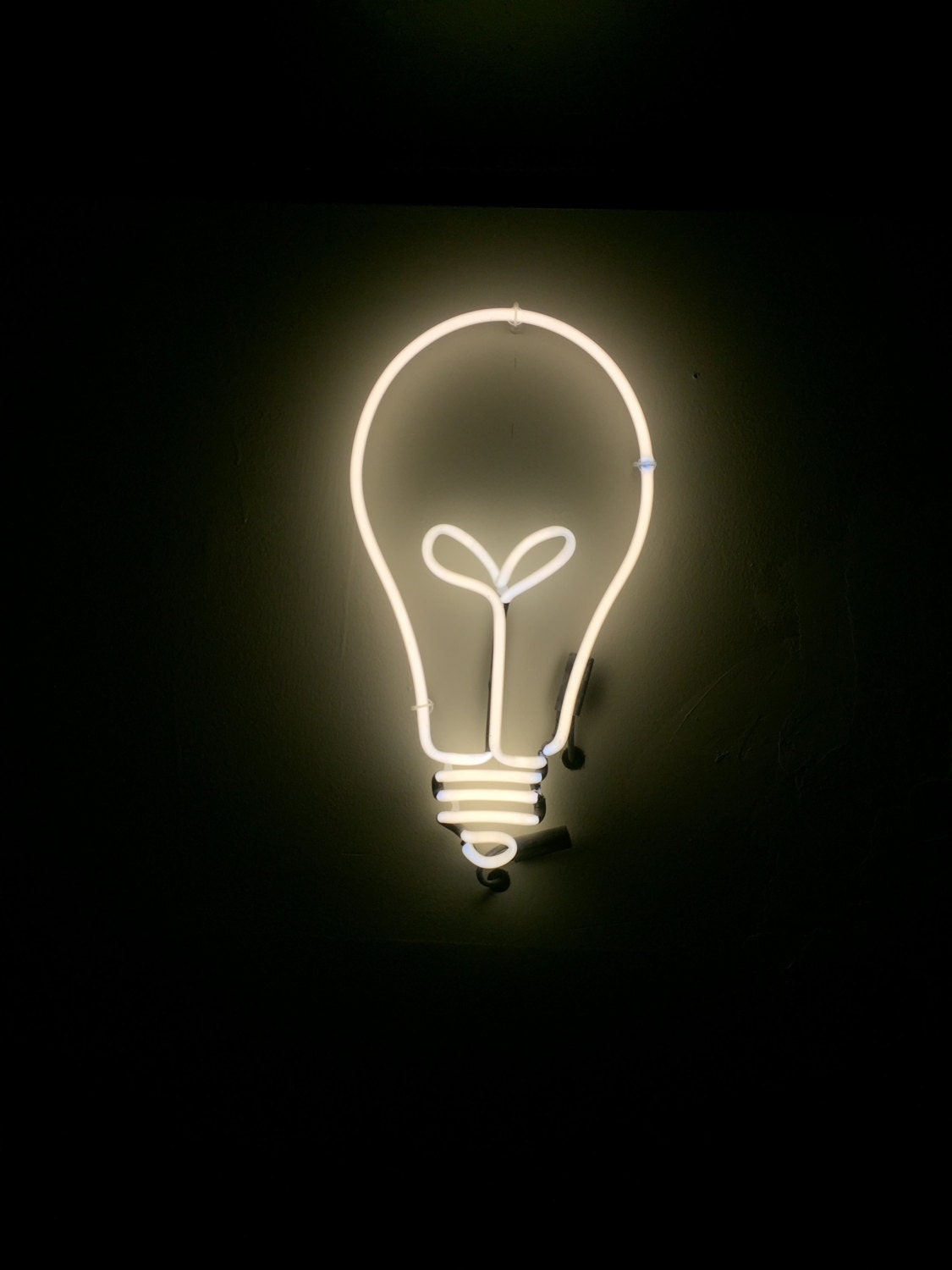 Lightbulb sign