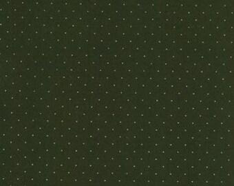 American Jane for Moda, Pin Dot in Magic Hat Black 21098.45 - 1 Yard Clearance