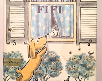 Benjy and His Friend Fifi - Margaret Bloy Graham (Illustrated First Edition 1988 HCDJ) Library Binding Animal Picture Book Children's