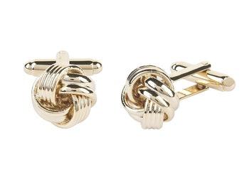 Knot Cufflink Gold
