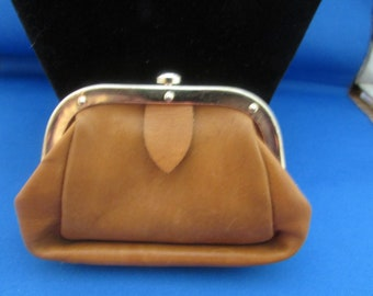 Leather Snap Coin Purse