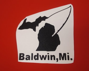 Fishing  Baldwin MI
