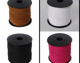 2.8mm faux suede cord