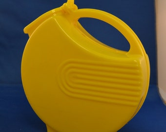 Plastic Yellow Pitcher