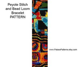Bracelet Pattern for Bead Loom or Single Peyote Stitch - PP141